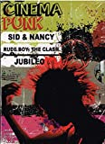 CINEMA PUNK [1.-SID & NANCY & 2.-RUDE BOY:THE CLASH & 3.-JUBILEO].[NTSC/REGION 1 & 4 DVD. Import-Latin America]