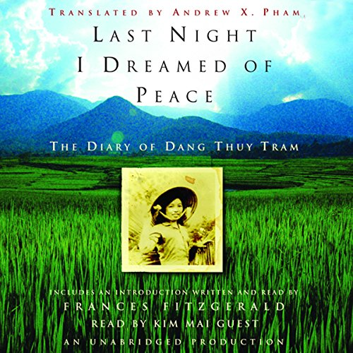 Last Night I Dreamed of Peace  audiobook cover art