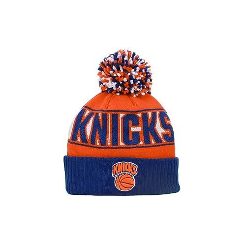 e2580397000c83 New York Knicks Rep Ur Team Cuff Pom Knit Beanie Hat/Cap
