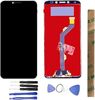 JayTong LCD Display & Replacement Touch Screen Digitizer Assembly with Free Tools for Tecno Pouvoir 2 LA7/ pouvoir 2 Pro LA7 PRO Black with Frame