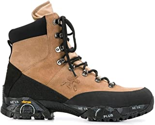 Luxury Fashion | Premiata Men MIDTRECK0160 Beige Leather Ankle Boots | Autumn-winter 19