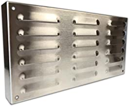 Midwest Hearth Island Vent for Masonry Fire Pits and Outdoor Kitchens - Stainless Steel