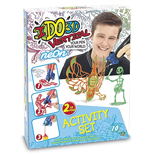 IDO3D 70153051 – Vertical Activity Set Giocattolo, 2 Penne