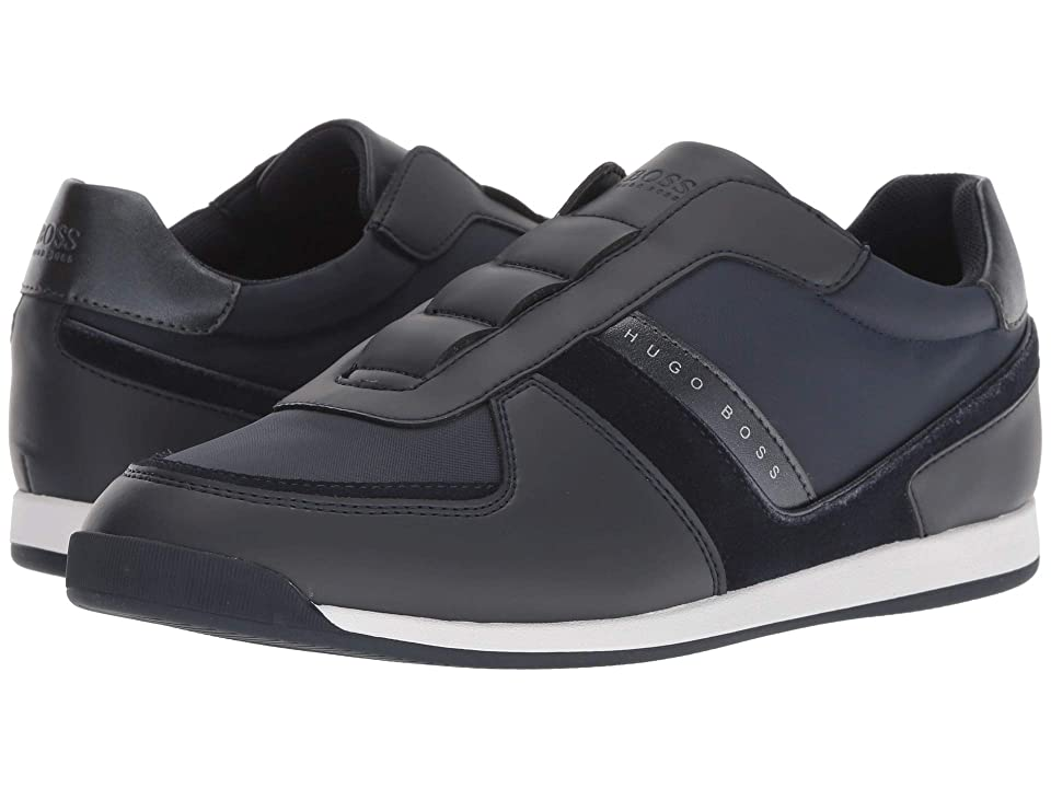 BOSS Hugo Boss Maze Slip-On Sneaker by BOSS Green (Dark Blue) Men