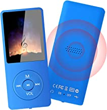 MP3 Player - 32GB MP3 Music Player with Voice Recorder and FM Radio, Hi-Fi Sound Potable Audio Player Build-in Speaker, wi...