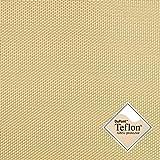 Breaker Teflon - Tela repelente al agua - A prueba de viento - Muy robusta (color beige) (por metro)
