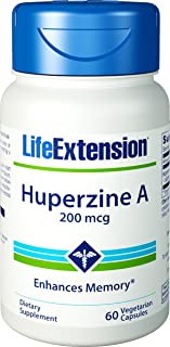 Life Extension - Huperzine A - 200 Mcg - 60 Vcaps (Pack of 2)