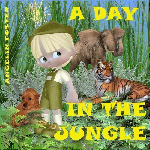 A Day in the Jungle audiobook cover art
