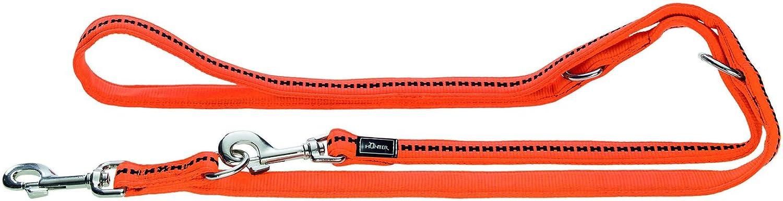 Hunter Power Grip Soft Padded Nylon Training Lead Rope, 25 x 200 cm, Large, Tan Brown