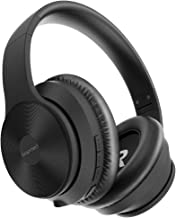 bopmen S40 Active Noise Cancelling Bluetooth Headphones - Wireless ANC Over Ear Headphones, Stereo Sound Headphones with C...