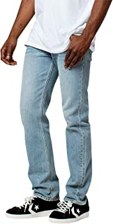 Rsq New York Slim Straight Light Wash Jeans