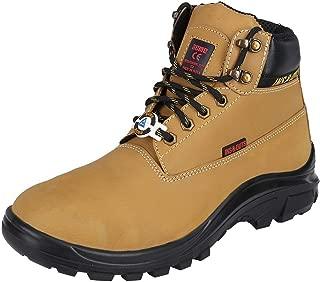 Acme Camel Cruiser Leather Safety Shoes (Size-42)