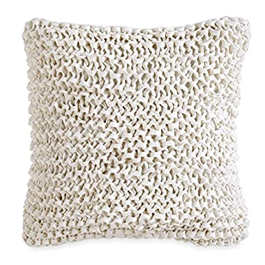 DKNY City Pleat Ribbon Tape Decorative Pillow