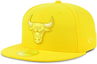 New Era Chicago Bulls 9FIFTY Color Prism Pack Fitted Cap, Yellow hat
