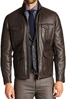New York Mens Abduction Taylor Lautner Leather Jacket
