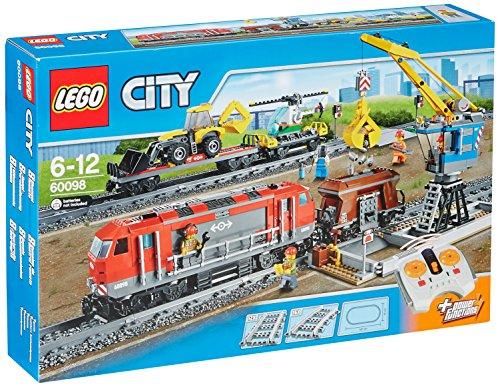 LEGO City - 60098 - Jeu De Construction - Le Train De Marchandises
