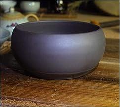 CHENTAOCS Flower Pot, Bou-tique Purple Sand Pot Big Belly Design Breathable Orchid Flower Pot Multi-meat Flower Pot Clivia Potted Flower Pot, Red 10 Inch (Color : B, Size : 25.5 * 9.5 * 23.5cm)