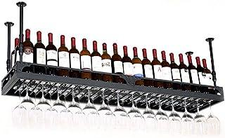 YZ-YUAN Porte-Verre à vin de Haute qualité Porte-vin en métal Porte-Bouteille de vin Porte-Bouteille de vin - Casier à vin...