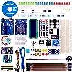 kuman Starter Kit mit German Tutorial,Elektronik und Programmierung Lernen, Lötfreies Steckbrett für ArduinoIDE K4