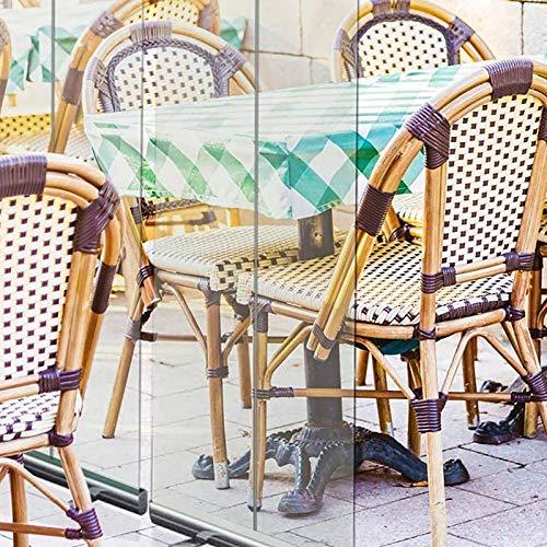 REXX Protectora Mamparas Transparente,Pantalla Separadora Metacrilato Suelo Banner Enrollable,En Pie Plastico Divisor Pantalla,Portátil Gimnasio Oficina Separador,para Oficina,Cafetería Y Restaurante