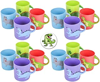 Rhode Island Novelty Dinosaurs Mugs Assorted Colors and Designs Two Dozen(24)