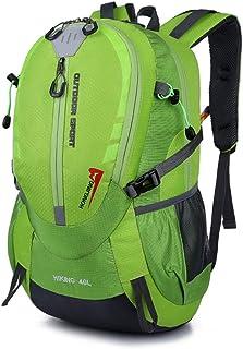 Deporte al Aire Libre que Acampa Paquete Trekking Mochilas artículo Ligero Mochila 40L resistente al agua que va de excursión Mochila ultraligera poco voluminoso equipaje de mano unisex al aire libre