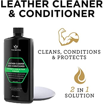 TriNova Leather Conditioner and Cleaner, 18 oz / 540 ml