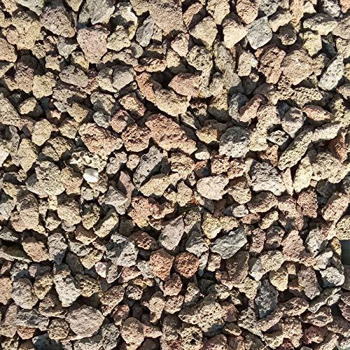 Lava Splitt Ziersplit 8-16mm rot-braun 25kg