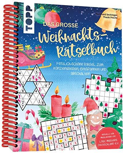 Das große Weihnachts-Rätselbuch: Festlich-schöne Rätsel zum Konzentrieren, Entspannen und Abschalten