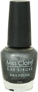 Miss Claire One Stroke Nail Polish 38, Silver, 15 ml