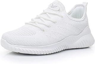 Women Slip on Walking Shoes Lightweight Memory Foam Casual Tennis Running Sneakers(US 5.5-10 B(M))