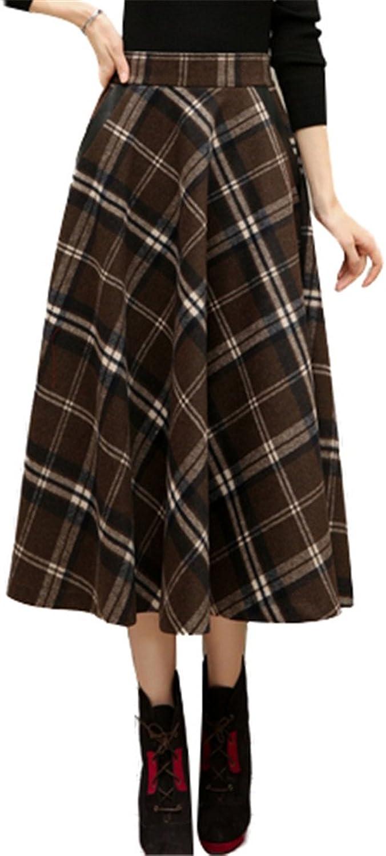 European Big Skirt Retro Classic High Waist Aline Skirt