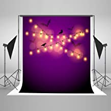 Kate 5ft(W) x7ft(H) Halloween Background for Party Microfiber Hallowmas Backdrops Halloween Photo Props