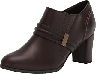 حذاء Berit Dress Bootie أنيق للنساء من Easy Street، بني/بني كروكو/غني، 6