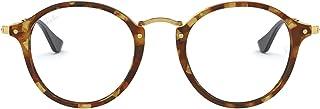 Ray-Ban Men's 0RX 2447V 5494 49 Optical Frames, (Brown Havana)