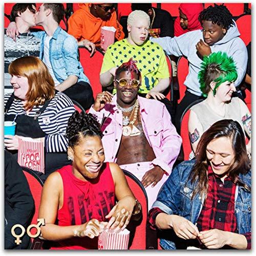 liujiu Lil Yachty Teenage Emotions Music 2017 Portada del álbum Star Canvas Wall Art Posters Impresiones para la decoración de la pared del hogar Regalo -20x20 Pulgadas Sin marco 1 pieza
