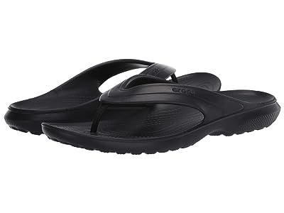 Crocs Coast Flip (Black) Shoes