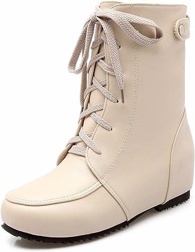 RFF-Wohommes chaussures Tirant Avant Court avec la Lumière de de la Mode Pate Chaussures Taille Bottes Martin