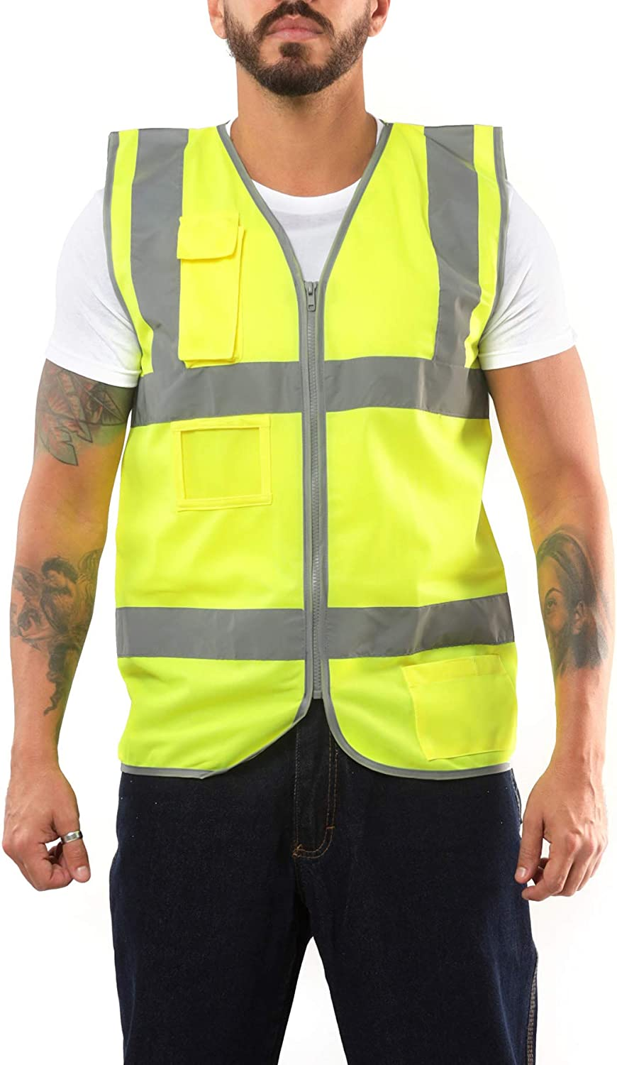 High Visibility Safety Vest with Kolossus New color Indianapolis Mall by Mesh Back