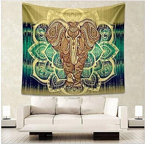 130 x 150 cm YISURE paesaggio naturalistico Arazzo da parete per camera da letto per soggiorno