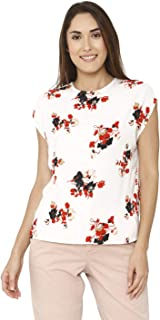 VERO MODA Women's Floral Regular fit Top