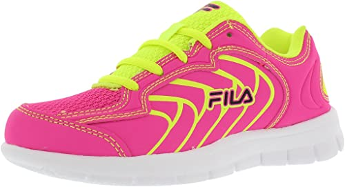 Fila Star Runner Girls Running chaussures Taille US 11, Regular Width, Couleur Fuchsia Neon