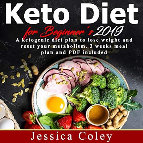 Keto Diet for Beginners 2019 audiobook cover art