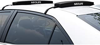 """wonitago Surfboard Soft Roof Rack Pads with Tie Down Straps, 19""""/28"""" Long (Pair), Universal Car Roof Rack for Paddleboard,..."""