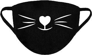 Cat Face Masks Cat Mask Washable Face Masks Cloth Reusable Face Mask Cover Cat Face