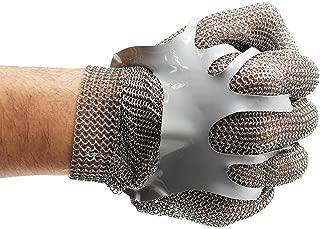 Best stainless steel metal mesh butcher gloves Reviews