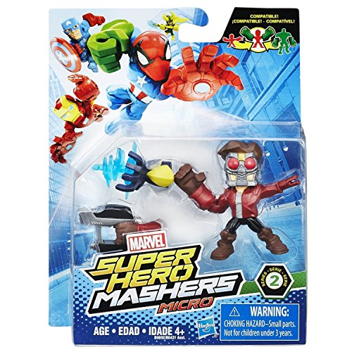 Marvel Super Hero Mashers Micro Series 2 - Star Lord Action Figure by Marvel