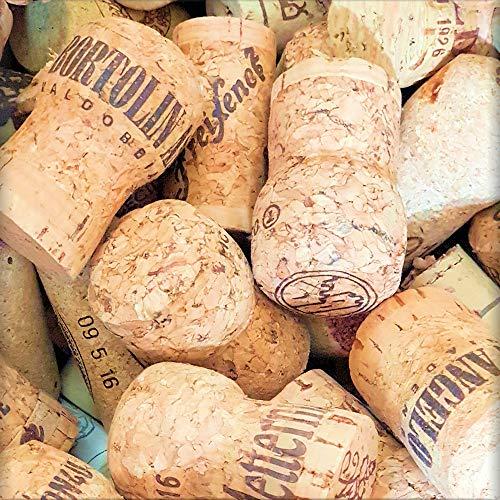 Korken 30 Naturkorken Sektkorken & Weinkorken gemischt, gebraucht dicker dichter Kork von Flaschen Sekt Prosecco Champagner Korken Flaschenkorken Naturkorken Kork Naturprodukte