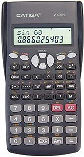 CATIGA CS-183 2-Line LCD Display Scientific Calculator - Suitable for School and Business