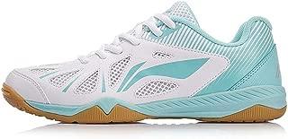 LI-NING Women Table Tennis Shoes National Team Sponsor Wearable Breathable Lining Sports Shoes Sneakers APTM004 APTP002